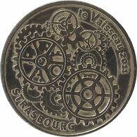 2011 MDP158 - STRASBOURG - Le Vaisseau 4 (Les Engrenages) / MONNAIE DE PARIS - Monnaie De Paris