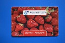 Orenburg. Strawberry. 100 Un. (bent Card) - Russland