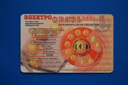 Orenburg. Phone Disk. 20 Un. (bent Card) - Russland