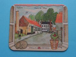 """1978 Jaar Van Het Dorp """" NOKERE """" Stella Artois ( Sous Bock / Coaster / Onderlegger ) Zie Foto's Voor Detail ! - Beer Mats"""