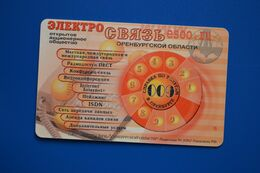 Orenburg. Phone Disk. 150 Un. (bent Card) - Russland