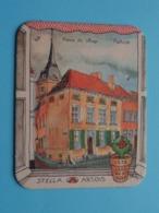 """1978 Jaar Van Het Dorp """" REKEM """" Stella Artois ( Sous Bock / Coaster / Onderlegger ) Zie Foto's Voor Detail ! - Beer Mats"""