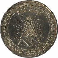 2008 MDP200 - ANGOULÊME - Franc Maçonnerie Angoumoisine / MONNAIE DE PARIS - Monnaie De Paris