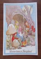 Illustrateur Lorna L.R. Steele - Wintertime In Fairyland - Lutins Ailés, Champignons, Souris, Écureuil - Altre Illustrazioni