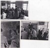 AVIATION AVIATEUR TURCAT CHAFFAS  EPN CENTRE ESSAIS EN VOL BRETIGNY  1952 3 PHOTOS - Aviation