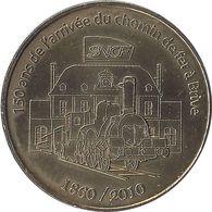 2010 MDP207 - BRIVE - L'Arrivée Du Chemin De Fer 150 Ans / MONNAIE DE PARIS - Monnaie De Paris