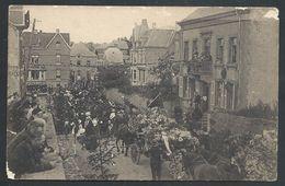 +++ CPA - Manifestation Patriotique 1920 En L'honneur Des Martyrs De ROSSIGNOL - Traversée De TINTIGNY // - Tintigny