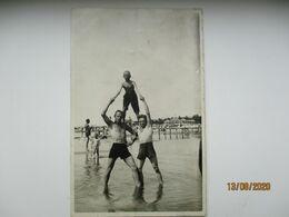 Estonia Young Men Acrobats On The Beach    , O - Männer < 1945