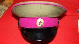 URSS CCCP BERRETTO MILITARE RUSSA DELL'ESERCITO SOVIETICO RUSSIA  MILITARY RUSSIAN CAP UNIFORM MILITAIRE KGB LENIN KL - Rusland