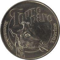 2008 MDP153 - ROMANÈCHE-THORINS - Touroparc 1 (girafe) / MONNAIE DE PARIS - Monnaie De Paris