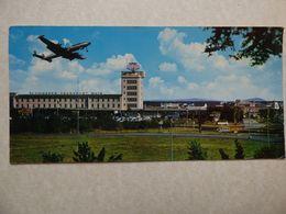 CP  GRAND FORMAT    AEROPORT / AIRPORT / FLUGHAFEN    FRANKFURT MAIN - Aérodromes