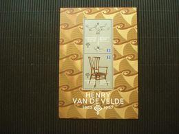 Postzegelblok**Henry Van De Velde**postfris** - Unused Stamps