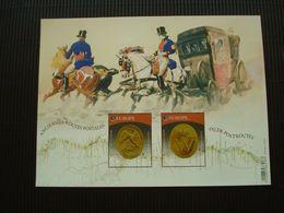 Postzegelblok**Oude Postroutes**postfris** - Unused Stamps