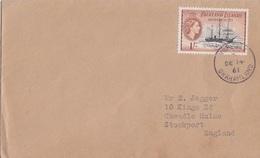 Lettre Des Falkland Dependencies N° 60 (Deutschland), Obl. Hope Bay Le 14 DE 61 - Falkland