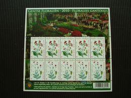 Postzegelblok**Gentse Floralien**postfris** - Unused Stamps