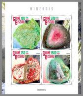 GUINEA BISSAU 2020 MNH Minerals Mineralien Mineraux M/S - OFFICIAL ISSUE - DHQ2033 - Minerals