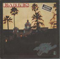 Disque 45 Tours EAGLES - 1976 Asylum Records 13084 - Version Originale Extrait Album Hôtel California - Rock