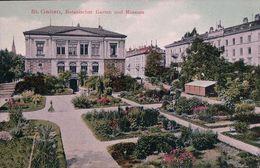 St Gallen, Botanischer Garten Und Museum (25159) - SG St. Gall