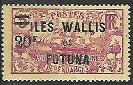 WALLIS-ET-FUTUNA N°39 N* - Wallis And Futuna