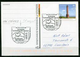 "Germany 2011 PLUSKARTE Leuchtturm Mi.Nr.PSo 103 I Als Stempelbeleg Mit SST""Dresden-33.Dt.Ev.Kirchentag ""1 GS Used - Cristianesimo"