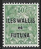 WALLIS-ET-FUTUNA N°40 NSG - Wallis And Futuna