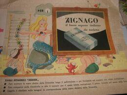 TAVOLA PITAGORICA PUBBLICITARIA SAPONE ZIGNAGO - Catalogues