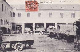 CPA MAROC @ TAOURIRT - Garage Mazert @ 100 Km Au Sud De Nador Dans La Région Du Rif Oriental - Maroc