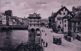 Zürich, Tramway, Limmatquai (9389) - ZH Zurich
