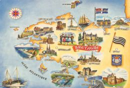 29-LA BRETAGNE PROVINCES ET VILLES-N°3717-C/0143 - Francia