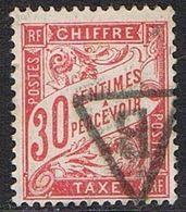 FRANCE : Taxe N° 33 Oblitéré - PRIX FIXE - - 1859-1955 Usados