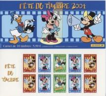BC 3461a  Y.T. Carnet France Neuf ** Mickey,Minnie,Donald Disney  Fête Du Timbre 2004 - Markenheftchen