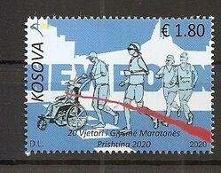 KOSOVO 2020,MARATHON,SPORT,MNH - Kosovo