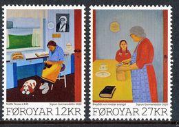 FAROE ISLANDS/Foroyar 2020 Art - Sigrun Gunnarsdottir, Set Mint** - Färöer Inseln