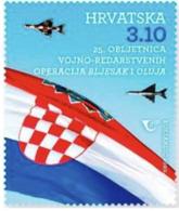 CROATIA 2020, 25  YEARS OF THE MILITARY POLICE OPERATION FLASH AND STORM ,MNH - Croacia