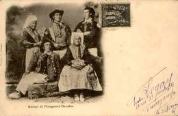 FRANCE - Carte Postale - Groupe De Plougastel Daoulas - L 67212 - Plougastel-Daoulas