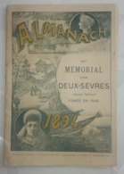 Almanach Du Mémorial Des Deux-Sèvres 1894 - Oude Documenten