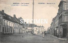 De Vlasmarkt - Courtrai - Kortrijk - Kortrijk