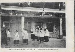 BRAZZAVILLE: Cérémonie Du Sacre  De Mgr Guichard - Le Collège Quitte Le Palais Episcopal -  Col. Augouard 2 - Brazzaville