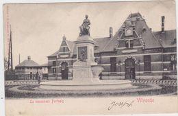 Vilvoorde - Monument Portaels (gelopen Kaart Van Voor 1900 Met Zegel) - Vilvoorde