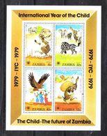Zambia   -  1979.  Anno Del Fanciullo. Favole Con Animali Diversi.Year Of The Child. Fairy Tales With Different Animals. - Cuentos, Fabulas Y Leyendas