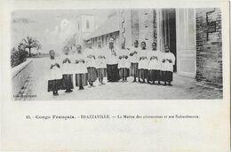 BRAZZAVILLE: Le Maître Des Cérémonies Et Ses Subordonnés -  Col. Augouard 13 - Brazzaville