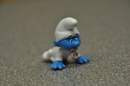 PEYO Smurf-schtroumpf-schlumpf AH Albert-heijn (NL) 2008 Bébé-baby - Smurfs