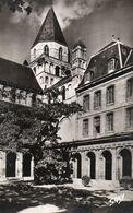 CPSM- CAEN - EGLISE SAINT ETIENNE ,TOUR LANTERNE,CLOITRE ABBAYE AUX HOMMES - Caen