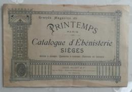 Catalogue ébénisterie - Grand Magasins Du Printemps - Reclame