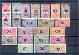 Nrs. TR213/TR235 MNH ** Postgaaf Prachtig - 1923-1941