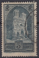FRANCE : RARE CATHEDRALE DE REIMS TYPE III N° 259b OBLITERATION CHOISIE - France