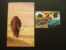 Velletje Zegels**Oog In Oog Met Prehistorische Dieren**postfris** - Unused Stamps