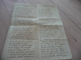 Manuscrit En Occitan Provençal Béziers 1740 Rëquesta Ptoisa Presentada Per Lou Cléric à Lous Jhuhes De La Pouliça Patois - Manuscritos