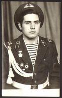 Handsome Man Guy Soldier Portrait Uniform Old Photo 9x14 Cm #30932 - Anonyme Personen