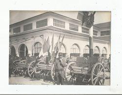 LYON (RHONE) 1914 PHOTO CANONS PRIS AUX BOCHES (MILITAIRES) - Krieg, Militär